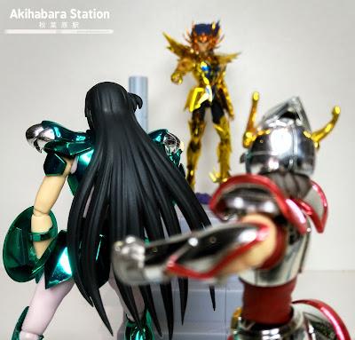 "Review de los D.D.Panoramation ""Dragon Shiryu"" y ""Cancer Deathmask,"" de #TamashiiNations"