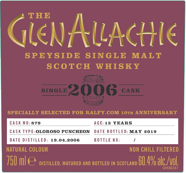 The Glen Allachie Speyside Single Malt Scotch Whiskey 13-Year
