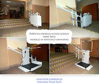 Platforma schodowa dla osób niepełnosprawnych