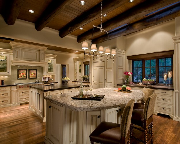 Six degrees of separation from a white kitchen! - The Enchanted Home - Kitchen Hood Designs Ideas