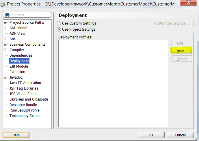 Fortune Minds - Java/J2EE: How to create Deployment Profiles