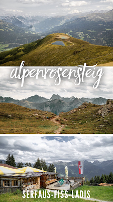 Alpenrosensteig vom Fisser Joch nach Fiss | Wanderung Serfaus-Fiss-Ladis | Wandern Tirol | Tourenbericht mit GPS-Track