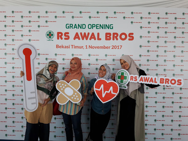 Pengalaman Menghadiri Peresmian Rumah Sakit  Awal Bros Bekasi Timur