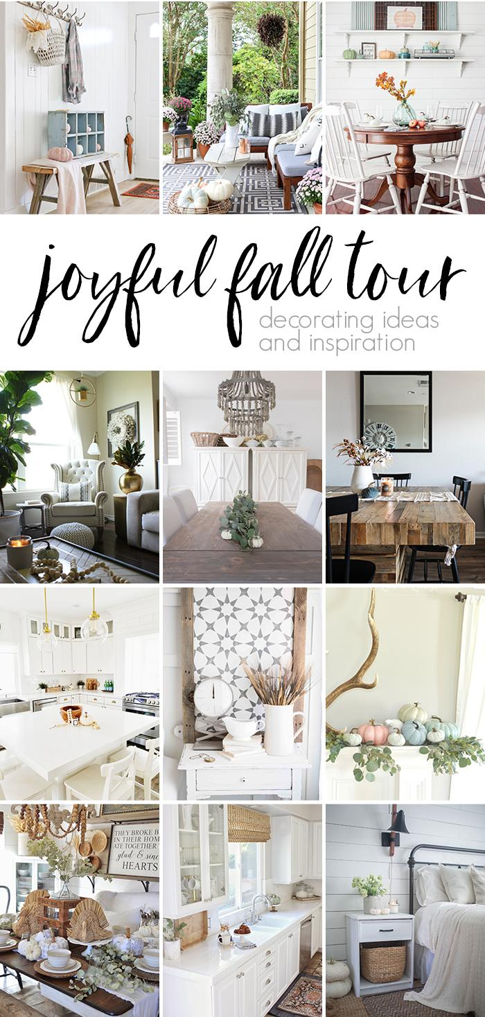 fall home decor bloggers