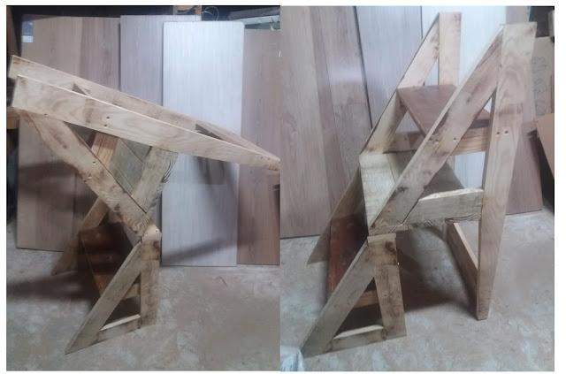 projeto cadeira escada