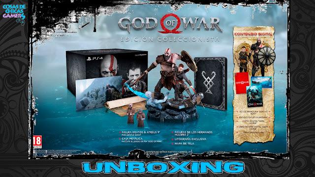Unboxing Edición coleccionista God of War PS4