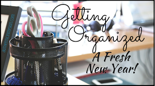 Getting Organized: A Fresh New Year - Authentic in My Skin - authenticinmyskin.com