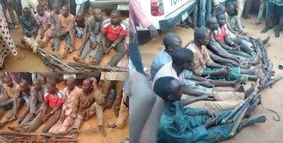 Fulani herdsmen caught with guns on their way to a community in Edo state