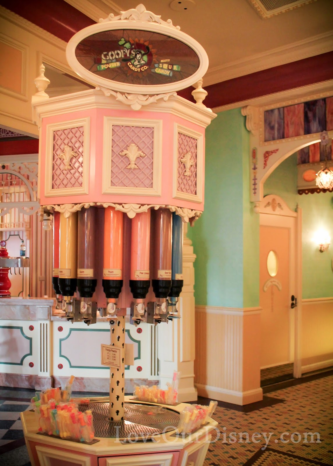Disneyland's Candy Palace is like stepping back in time. LoveOurDisney.com