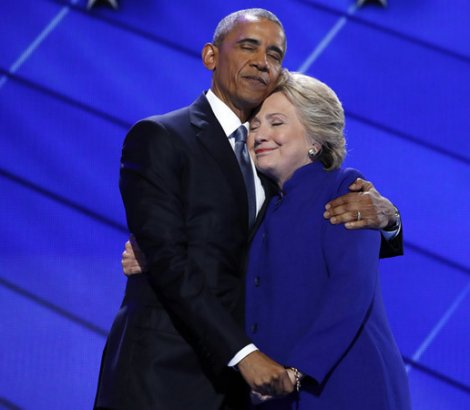 Obama and Clinton: Identical Crooked Twins