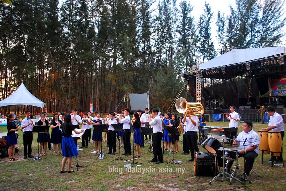 Chung Hua Miri Brass Band Borneo Jazz Festival