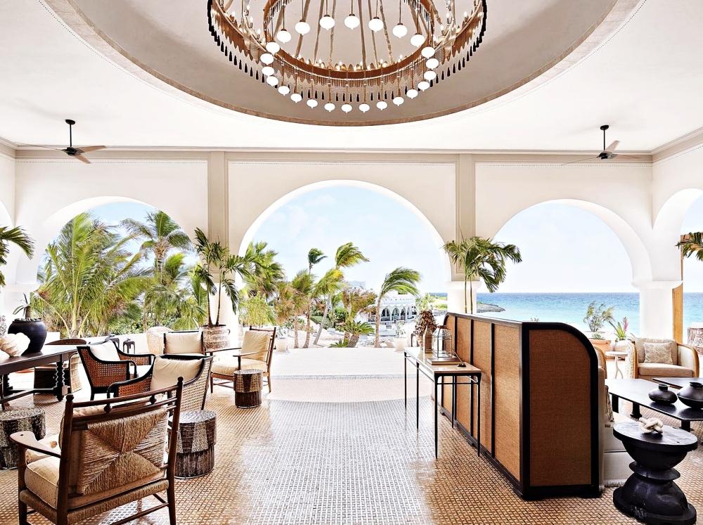 Belmond Cap Juluca Anguilla Lobby
