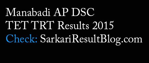 TET TRT Result 2015