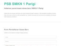 Aplikasi PSB Berbasis Web Versi 2