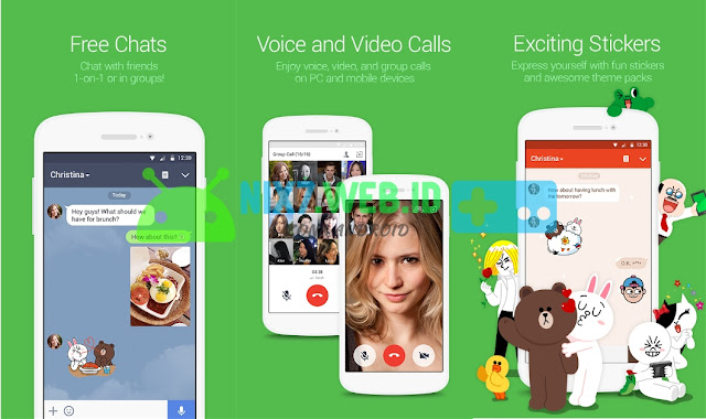 LINE:Free Calls & Messages Terbaru 6.7.2 APK
