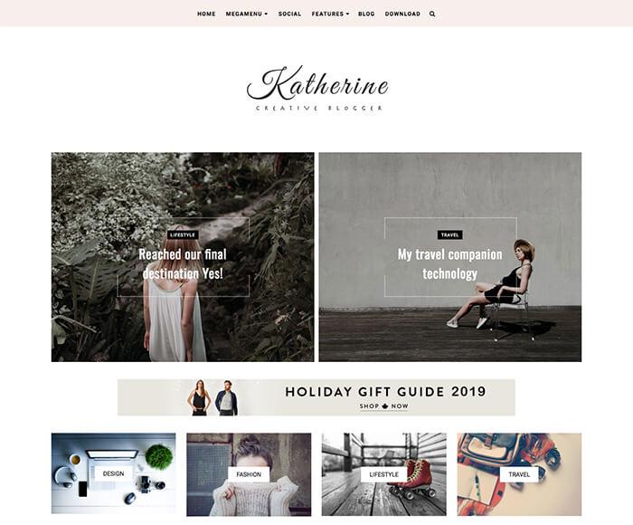 Katherine Blogger Theme 2019