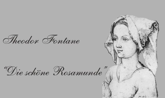Junges Mädchen- Rosamunde