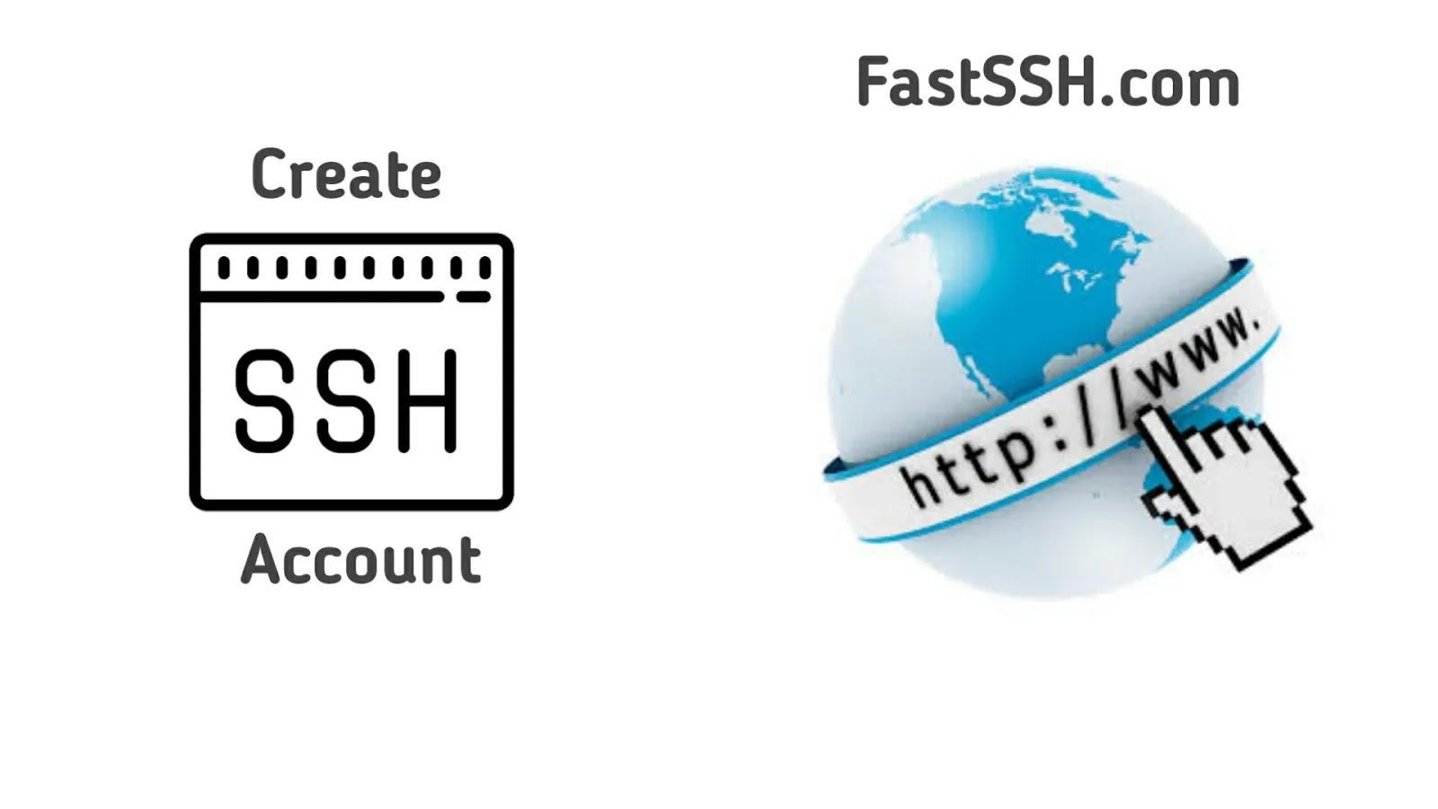 Cara Membuat Akun SSH di Situs FastSSH