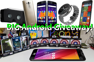 BIG Android July Giveaway Prizes