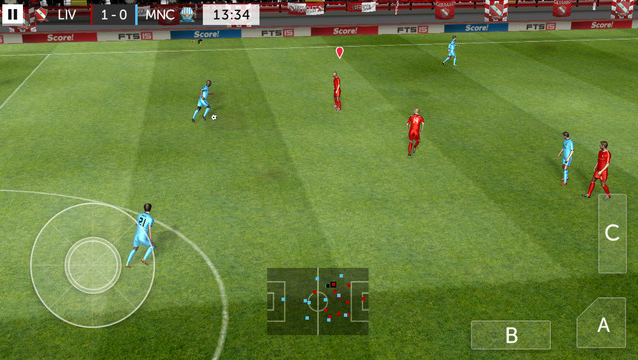 لعبة First Touch Soccer 2015