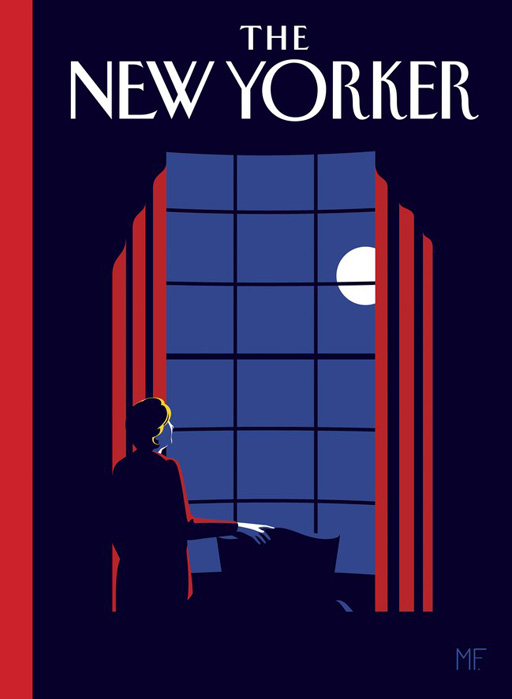 The never-before-seen planned cover of The New Yorker IF Hillary Clinton had won the presidency
