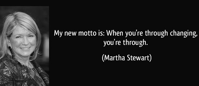 Martha Stewart Quoted