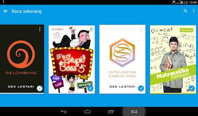 Kelebihan Berbelanja E-book di PlayStore