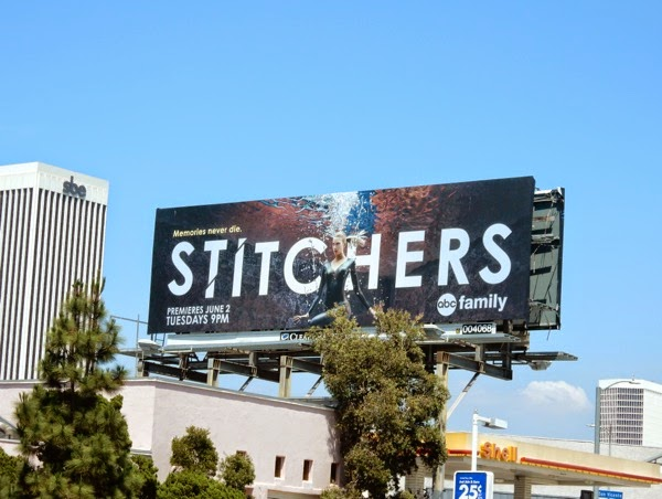 Stitchers ABC Family billboard