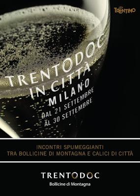 Trentodoc in Città dal 21 al 30 settembre Milano
