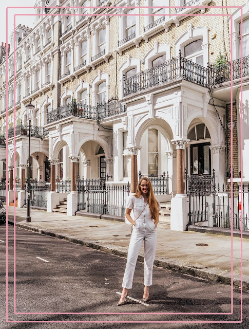 Luxury London Kensington fashion blogger