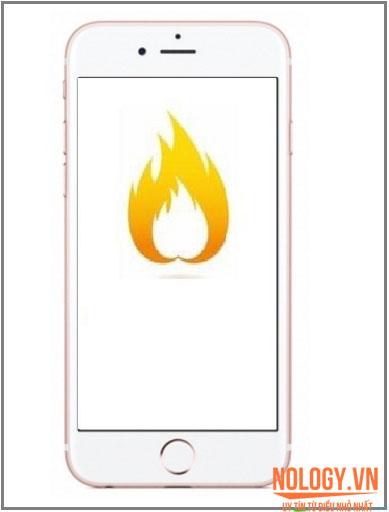 Iphone 6 plus nóng máy