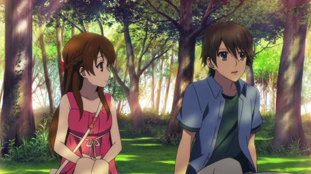 glasslip episode 13 21 15 Anime Terbaik Berlatar Pedesaan