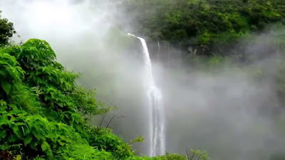Places to visit in Mahabaleshwar, things to do in mahabaleshwar, mahabaleshwar points, Lingmala Waterfalls