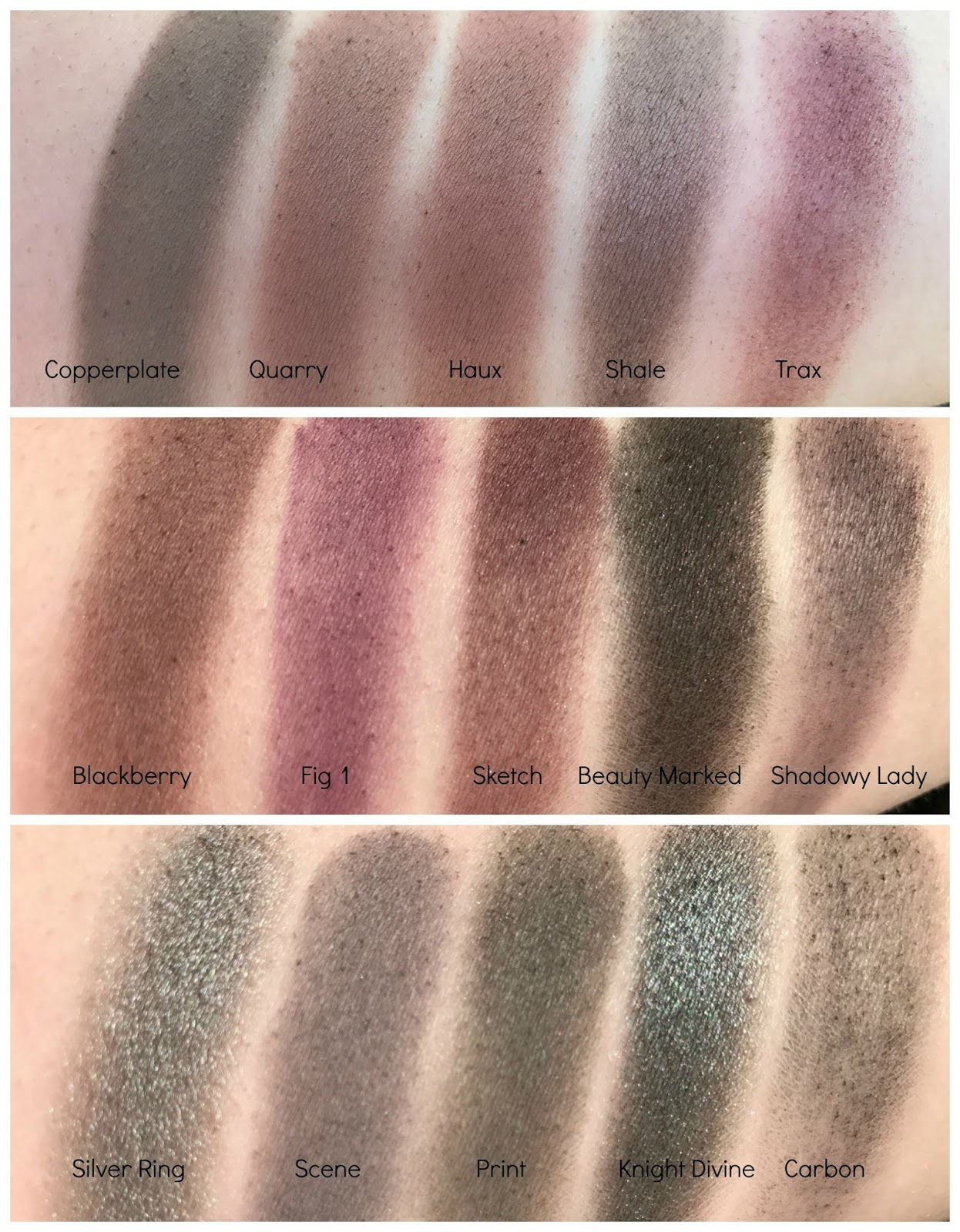 Mac Single Eyeshadow Collection: MAC Single Eyeshadow Collection