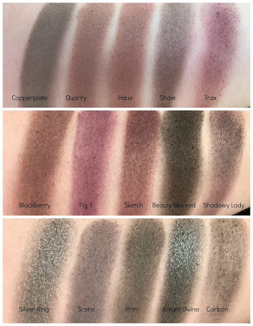 mac single eyeshadow collection 60 eyeshadows review