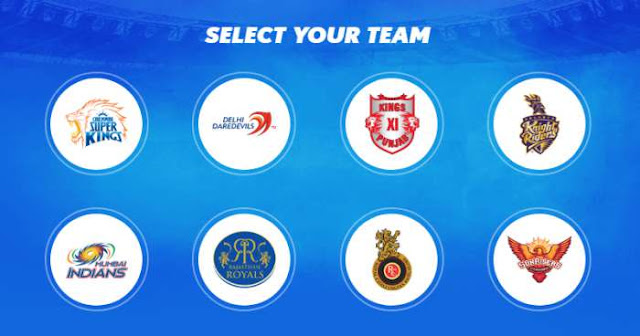 IPl 2018: Vote for your Favourite IPL Team