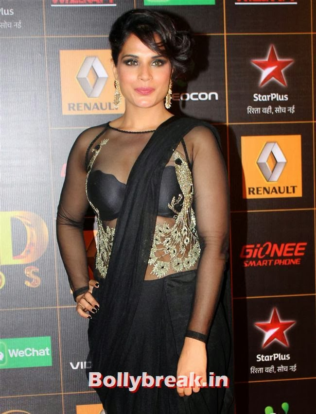 Richa Chadda, Star Guild Awards 2014 Pics