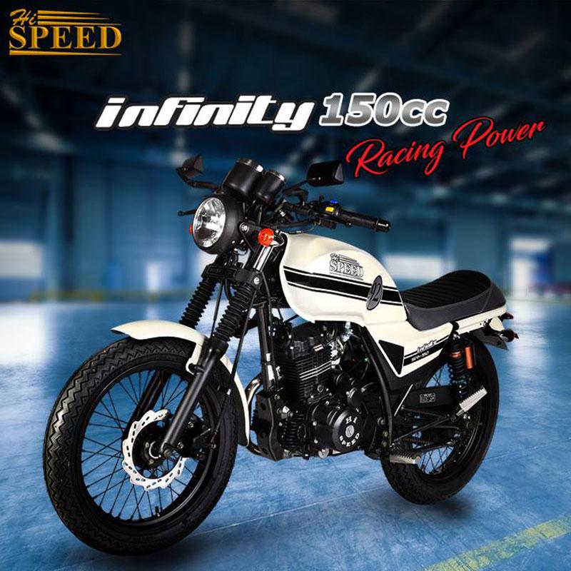 hi speed 2018 cafe racer infinity 150cc motor bike cycle model