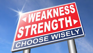 From Strength to Weakness
