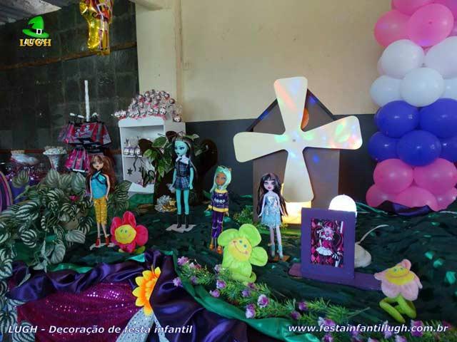 Decoração de festa infantil Monster High - Aniversário