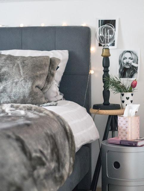 Schlafzimmer makeover, Schlafzimmer renovieren, new bedroom, boxspringbett , skandinavisch einrichten