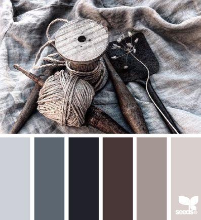 Inspiración de colores - estilo Industrial