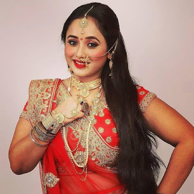 Rani Chatterjee Photo in red saree