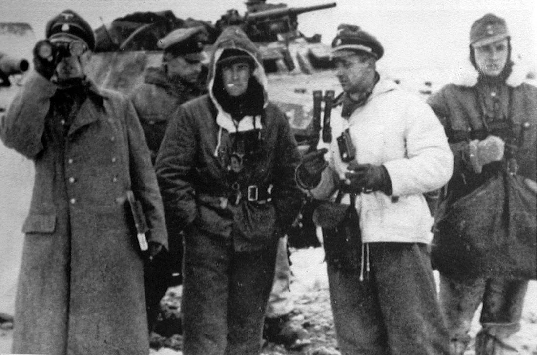 Nazi jerman: foto joachim 'jochen' peiper