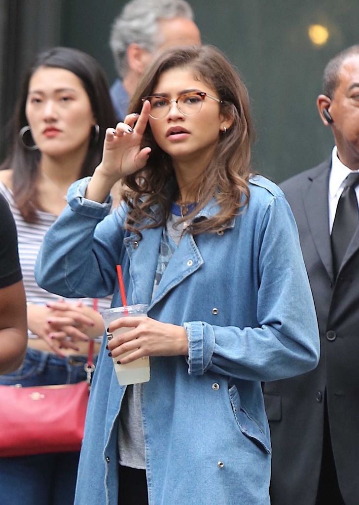 Zendaya Coleman Street Style Out in New York