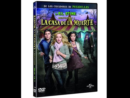 A la venta en DVD 'Bienvenidos a la casa de la muerte', adaptación de la obra de  R. L. Stine