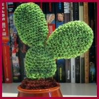 Cactus grande amigurumi