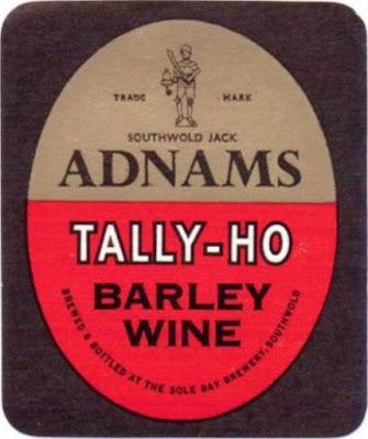 Let's Brew 1913 Adnams Tally Ho