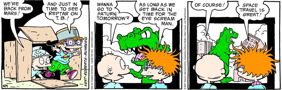 Rugrats Comic Strip For Tuesday June 9