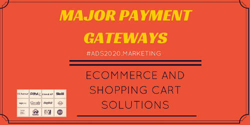 An Ultimate List of Major Payment Gateways in India-500x250